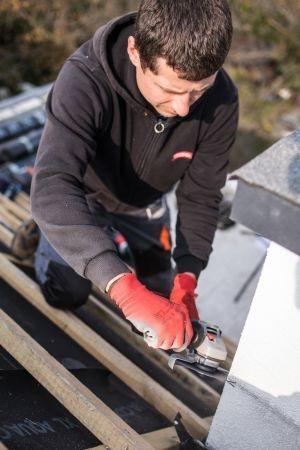 Komfort i ergonomia pracy Elektronarzędzia Bosch Professional do prac dekarskich