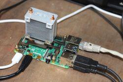 Aktywne chłodzenie dla minikomputera Raspberry Pi 4
