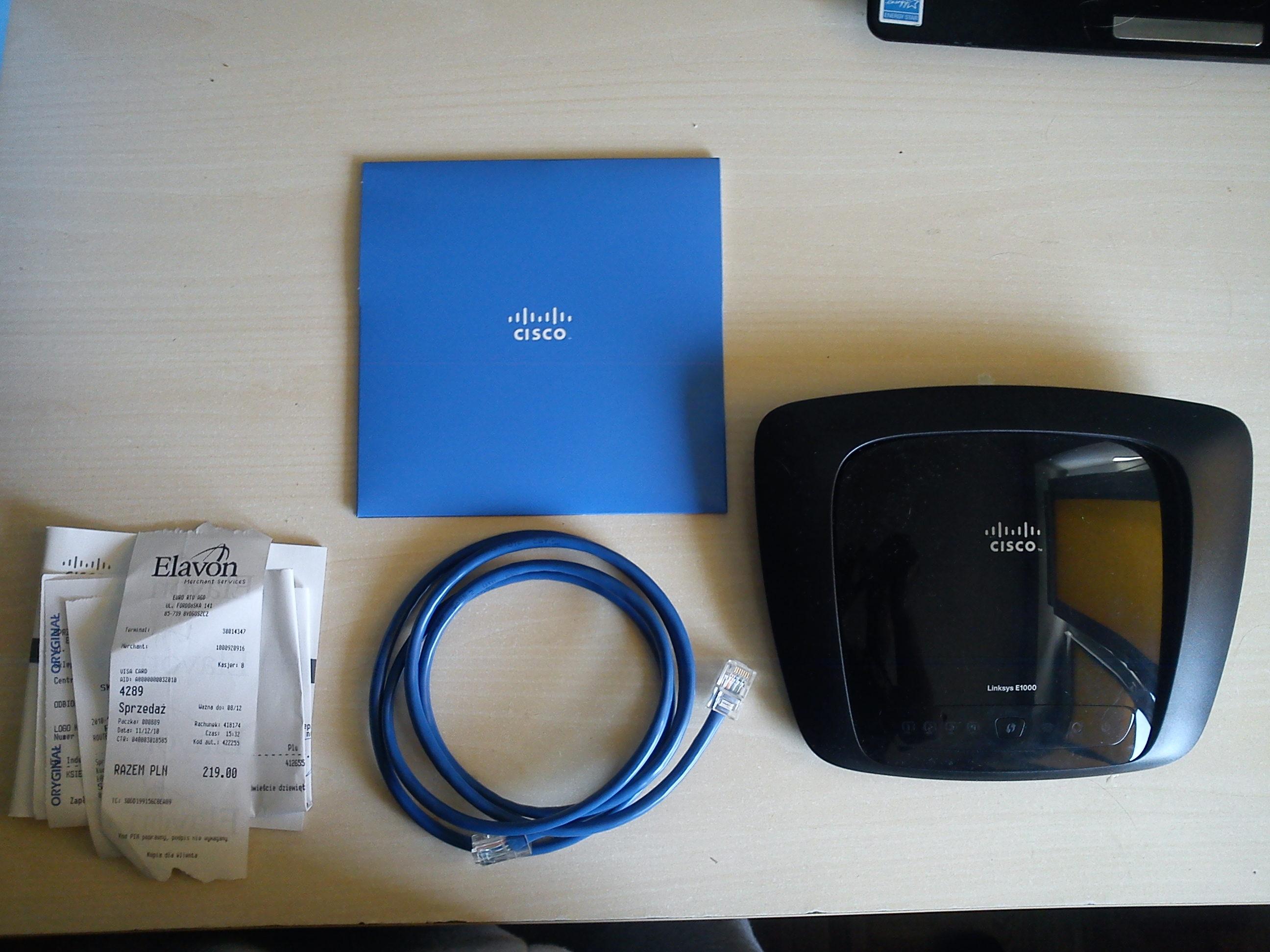 [Sprzedam] router linksys e1000
