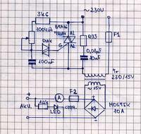 Szukam schematu do zasilacza symetrycznego regulowanego od 0 do 70V 300W