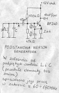 Nadajnik nie działa - źle dobrane zamienniki tranzystorów?