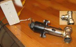 Sterownik zaworu grzejnikowego na silniku krokowym z Cinquecento 1.1