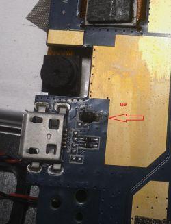 Identyfikacja diod - diody Zenera w układzie zasilania tabletu