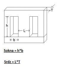 Określenie parametrów transformatora