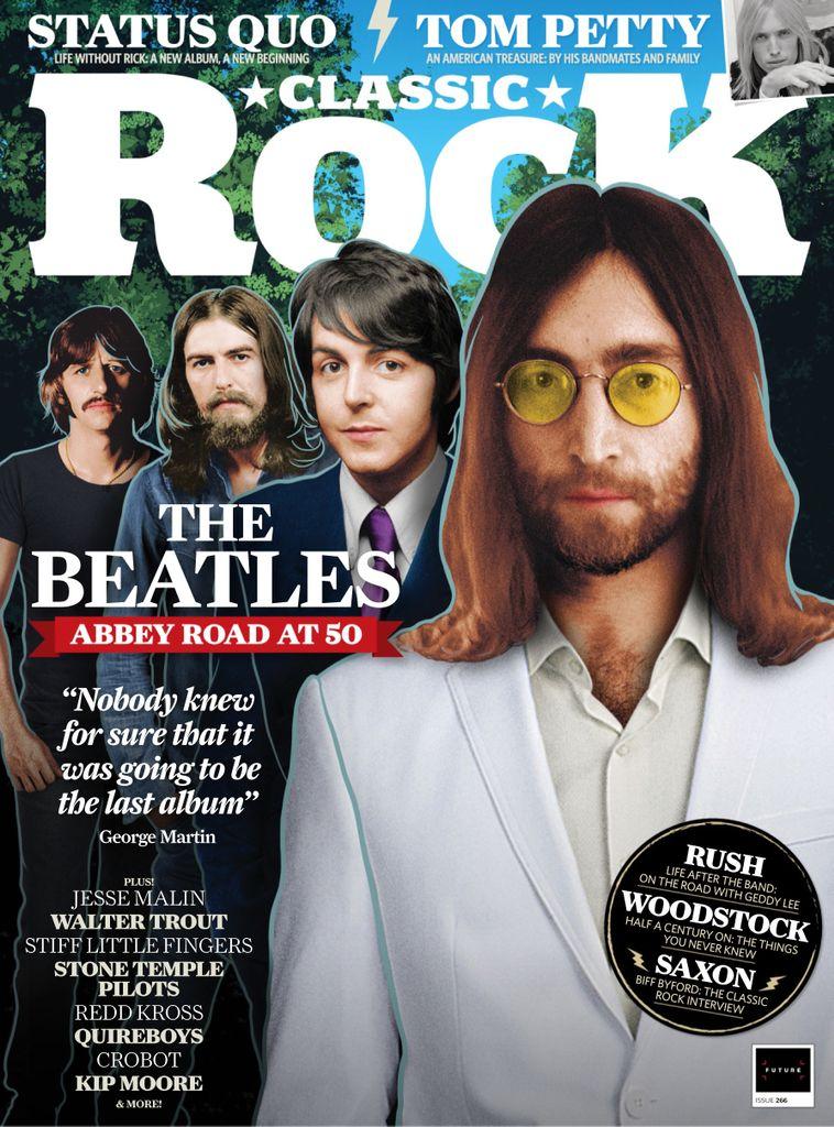 The Beatles Polska: Beatlesi na okładce wrześniowego Classic Rocka