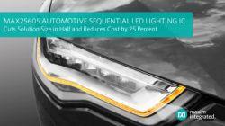 Nowe motoryzacyjne kontrolery LED od Maxim