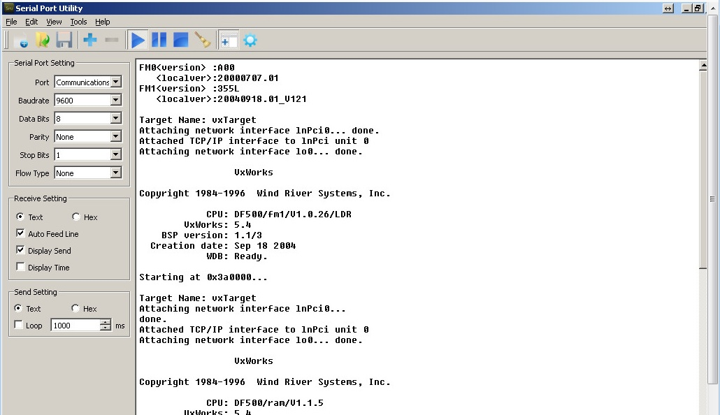 Hitachi DF500-RK - Jak ugry�� RS232
