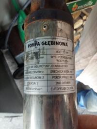 Pompa głębinowa QJD2-62/15-1,5 - Silnik pompy nie startuje poprawnie