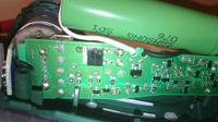 Wkrętak Bosch Ixo - Montaż modułu ładowania ogniw li-jon we wnętrze wkrętarki