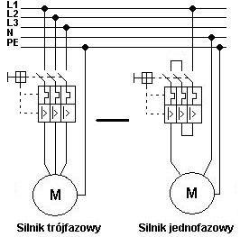 Podłączenie silnika jednofazowego Promotor ML 90S-4 - dodatkowe 2 przewody?
