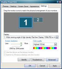 Laptop lenovo x220 - Ustawienie rozdzielczości większej od natywnej