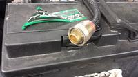 Brakuj�cy element przy pod��czeniu wzmacniacza i kondensatora