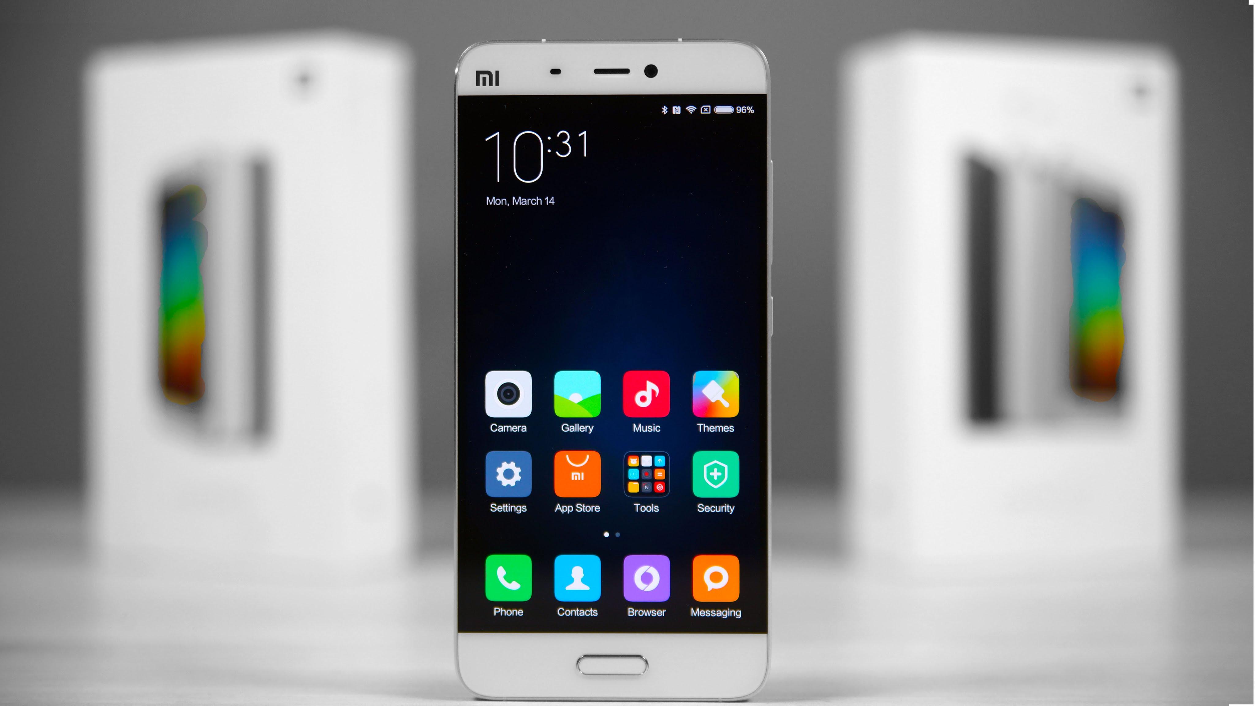 Sprzedam Xiaomi Mi5 3gbram 32gb Lte Biały Czarny Nowy