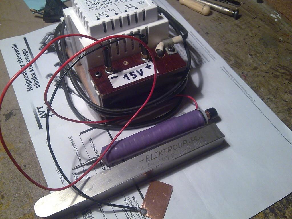 Pisak elektroiskrowy - iskrograf