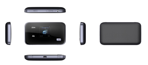 ZTE uFi MF93D - mobilny hotspot sieci LTE 4G z obs�ug� dw�ch zakres�w WiFi