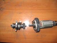 M�otowiertarka DeWalt D25113K - Uszkodzone sprz�g�o uszkodzi�o wirnik?