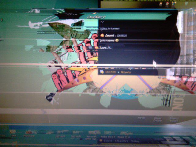 Lataj�cy ekran w laptopie Acer Aspire 5610