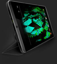 "Nvidia Shield Tablet - tablet z 8"" ekranem, Tegra K1 i kontrolerem do gier"