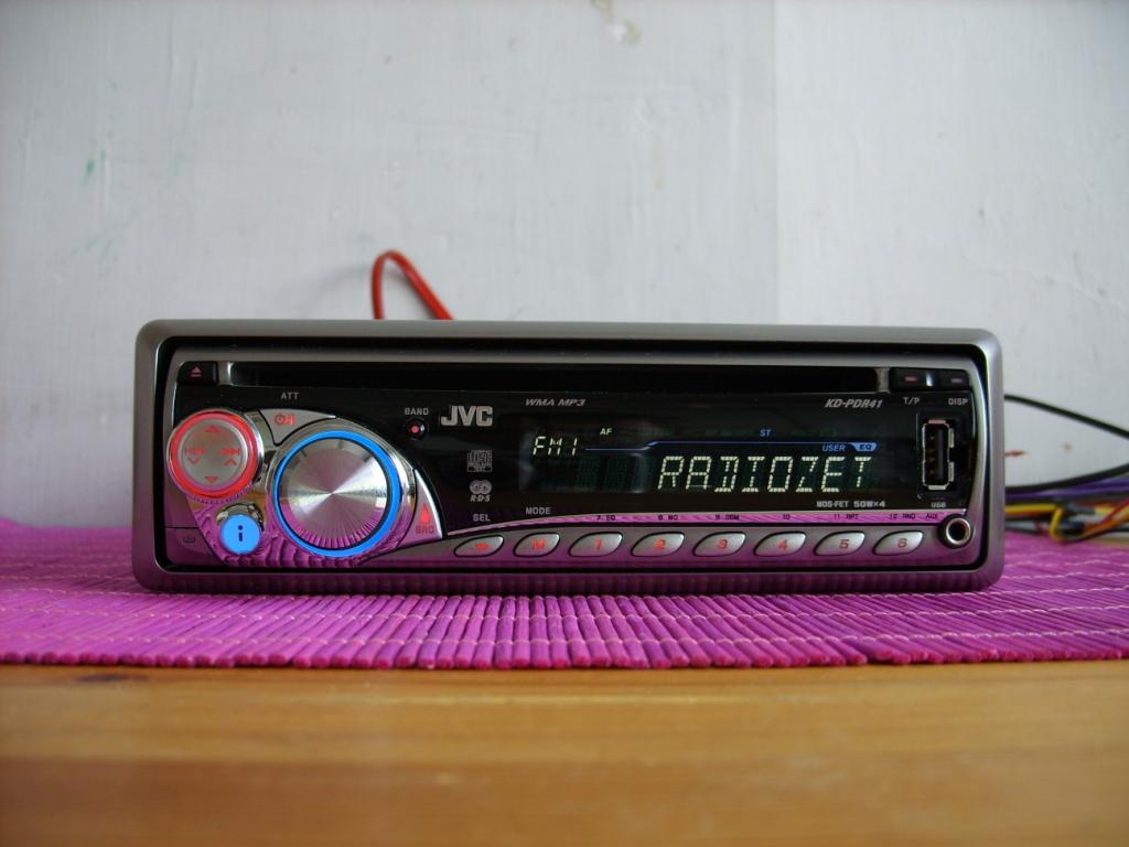 [Sprzedam] Radio JVC KD-PDR41 MP3 AUX USB IPOD