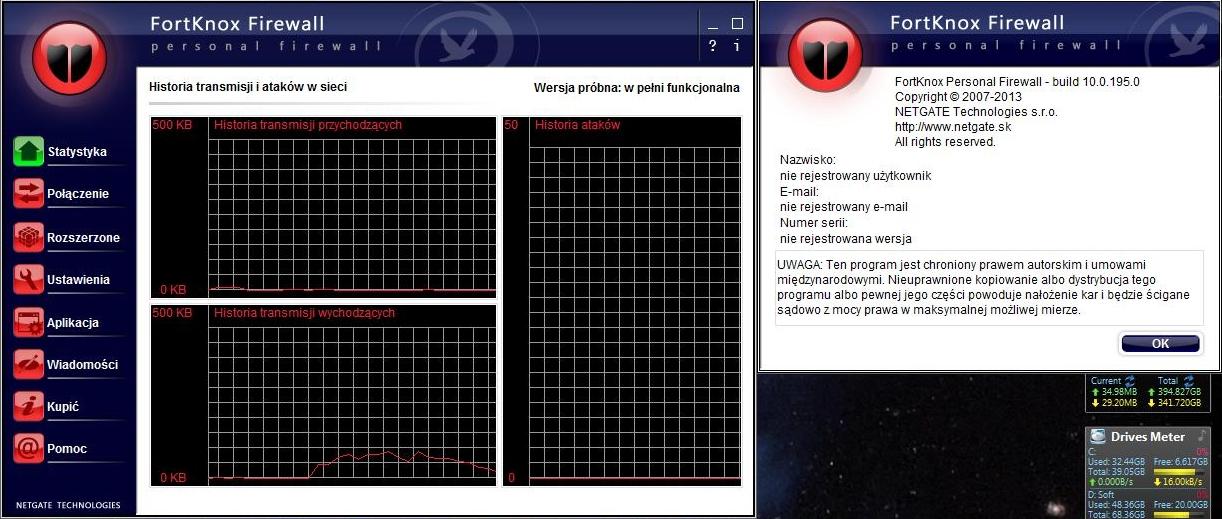 FortKnox Personal Firewall - firewall za free