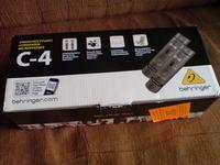 [Sprzedam] Mixer Behringer Q1202USB oraz Mikrofony Behringer C-4