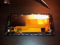 Wymiana digitalizera Sony xperia j st26i - jak oddzieli� od lcd?