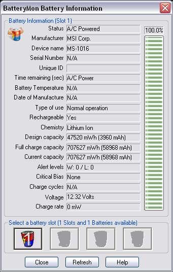 Naprawa baterii laptopa LG G1