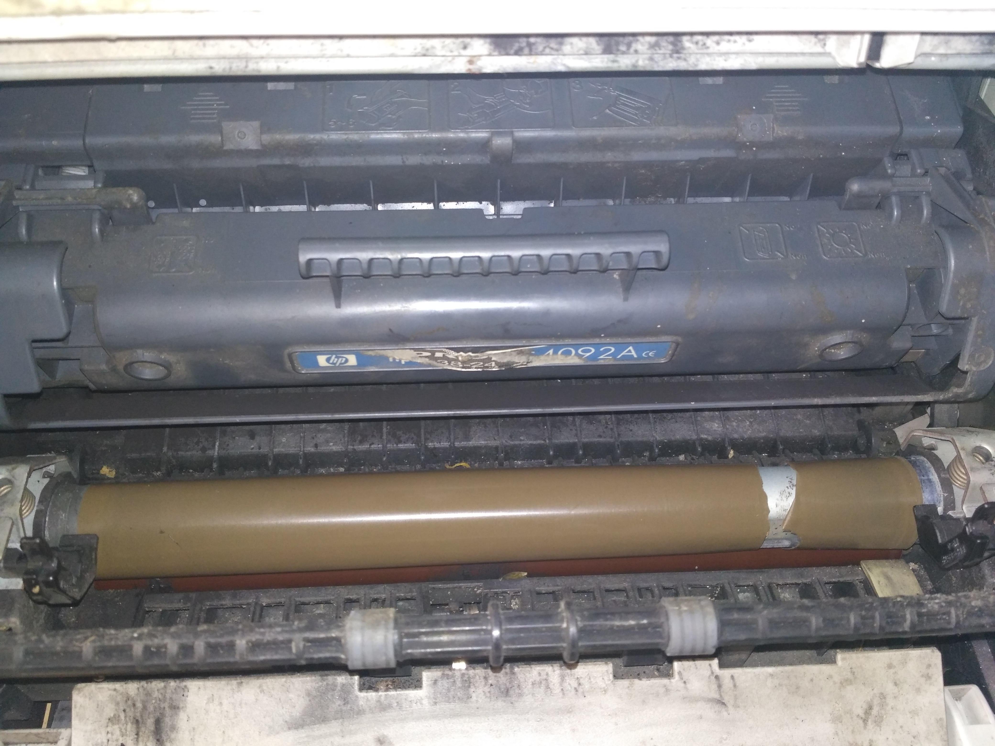 Topnotch HP Laserjet 1100 - W jaki sposób naprawić uszkodzenie folii? IY84