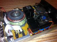 Zasilacz mikroprocesorowy 0-25V 0-5A V.3