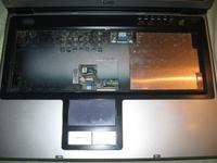 Benq Joybook P52 - gniazdo zasilania, przegrzana p�yta, migotanie obrazu