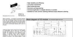 VS5-24 przekaznik krokowy - układ zastępczy