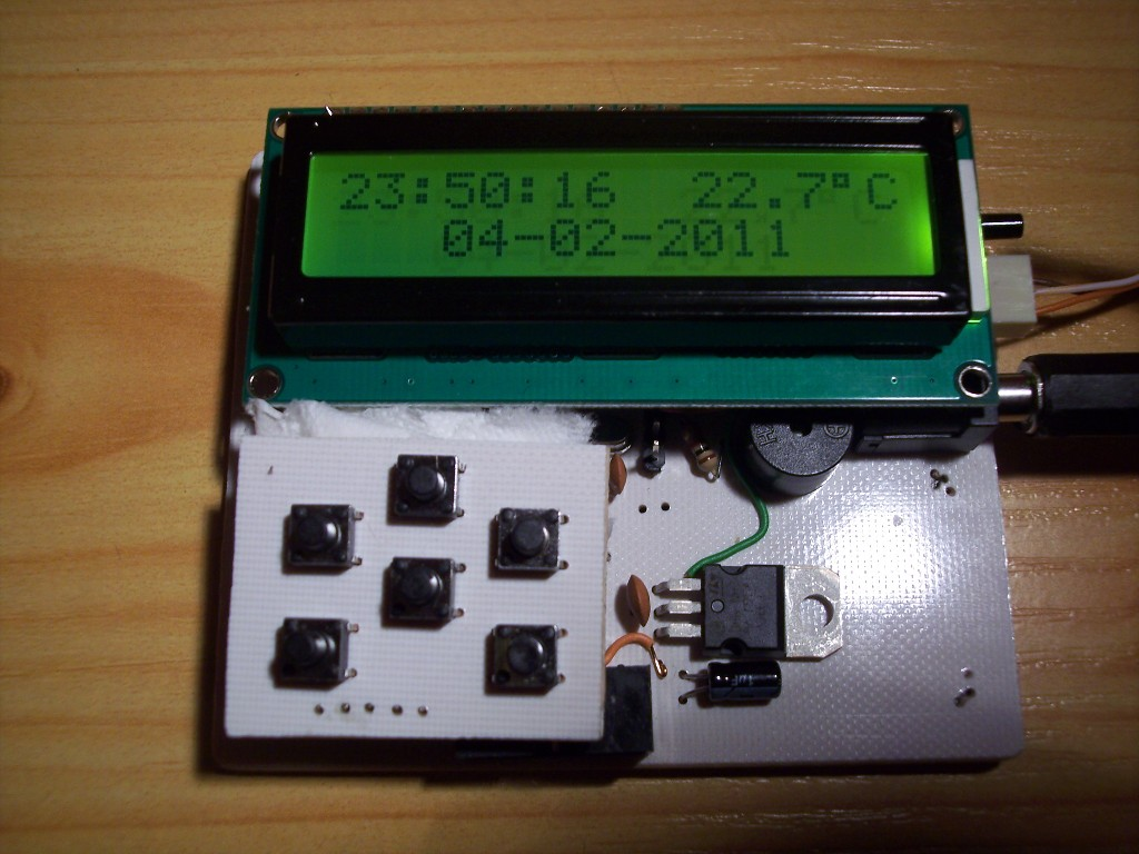 Rejestrator temperatury z SD - v3