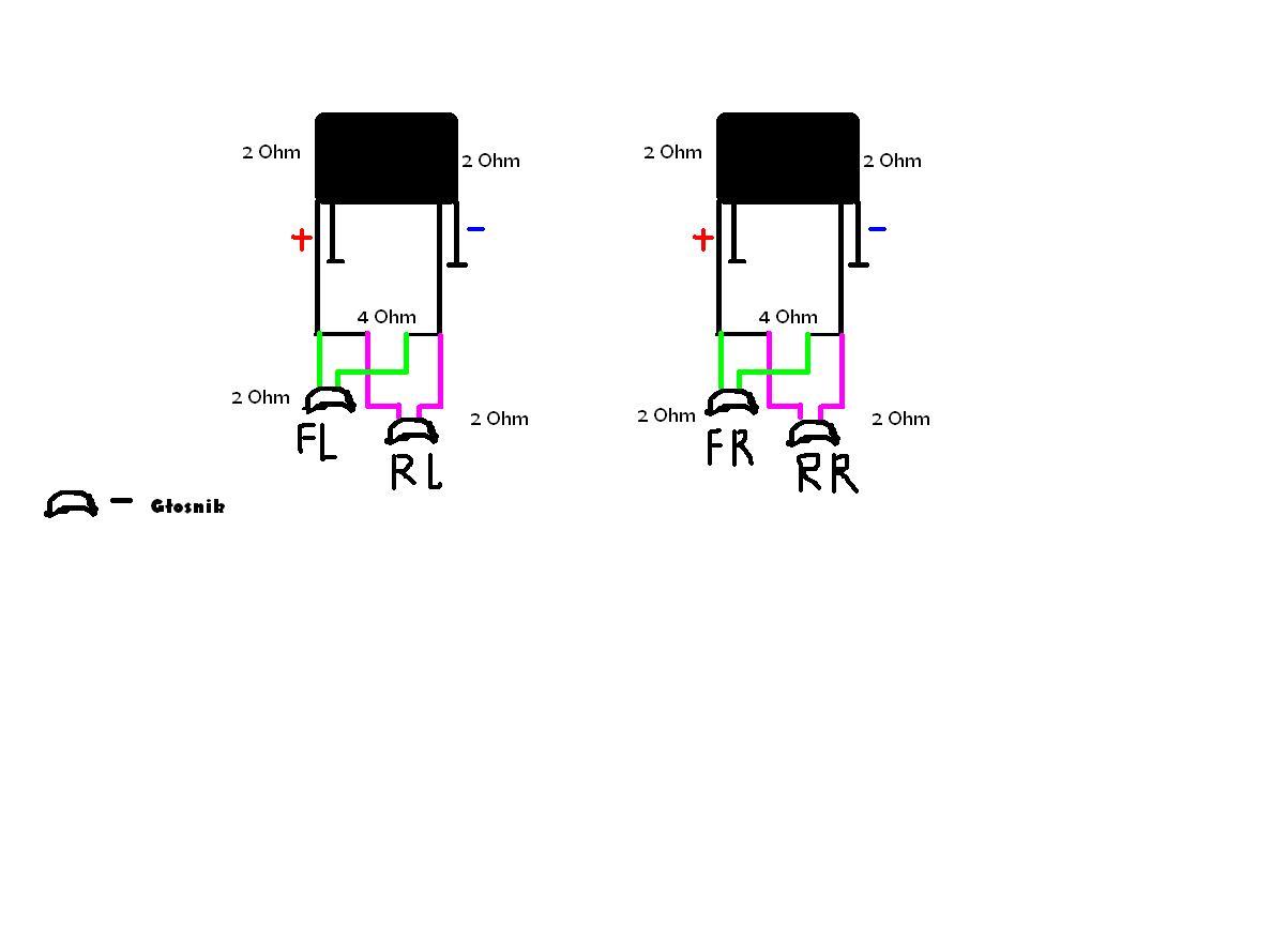 Zwi�kszenie impedancji wyj�ciowej wzmacniacza BOSE