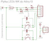 Attiny13 - 3-bitowy licznik - nie działa zgodnie z oczekiwaniami