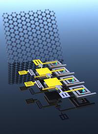 Pierwszy w pełni funkcjonalny układ z tranzystorami grafenowymi