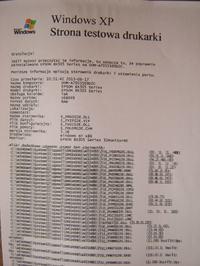 Epson BX305F - Od po�owy rozmazany druk