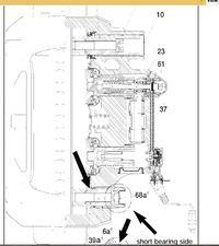EBS Knorr ver.5 Man TG-A potencjometr stanu klocków hamulcowych