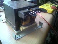 Trafo w Technics su-v500 - przewinięcie, parametry wyjść