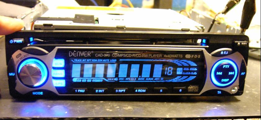 Denver Cad 370 2 Rezystory Się Grzeją I Radio Nie Działa