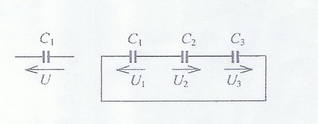zadanie łączenie kondensatorów