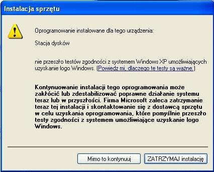 Komputer zawiesza się zaraz po uruchomieniu.