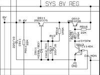 Pioneer DEH-P2500R Q912, D911 co to za elementy