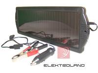 Układ: Bateria słoneczna+aku+diody