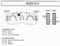 Zegary w Audi A4 1.8 1995 (drgające wskazówki)