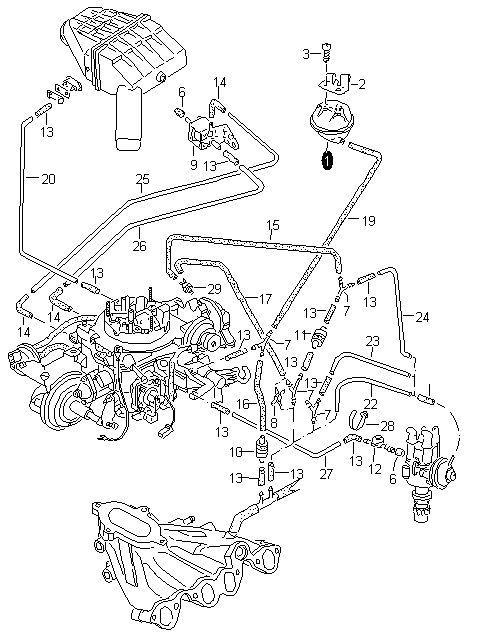 Volkswagen Golf 1.6 RF momenty dokręcania