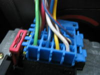 Corsa c, kolory kabli can