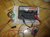 Ladowarka akumulatorów samochod. 12V 30/80Ah.