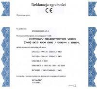 Rejestrator BCS 0804 GBEH z lan problem z podglądem