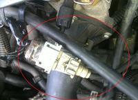 Xsara I 1,9TD kontrolka od immobilizera i nieznane wtyczki