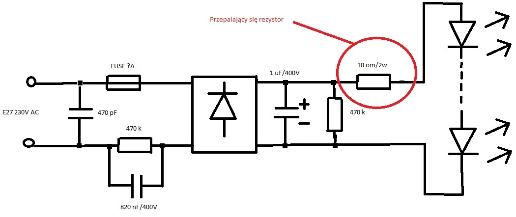 LumenLed 5W - Tanie �ar�wki led, a przetwornica z modyfikowan� sinusoid�,